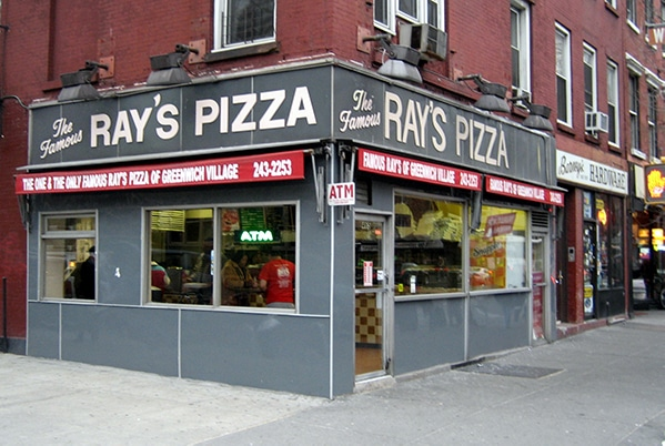 Ray's Pizza in NY